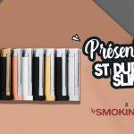 Briquet Slim 7 S.T. Dupont, le plus fin du monde