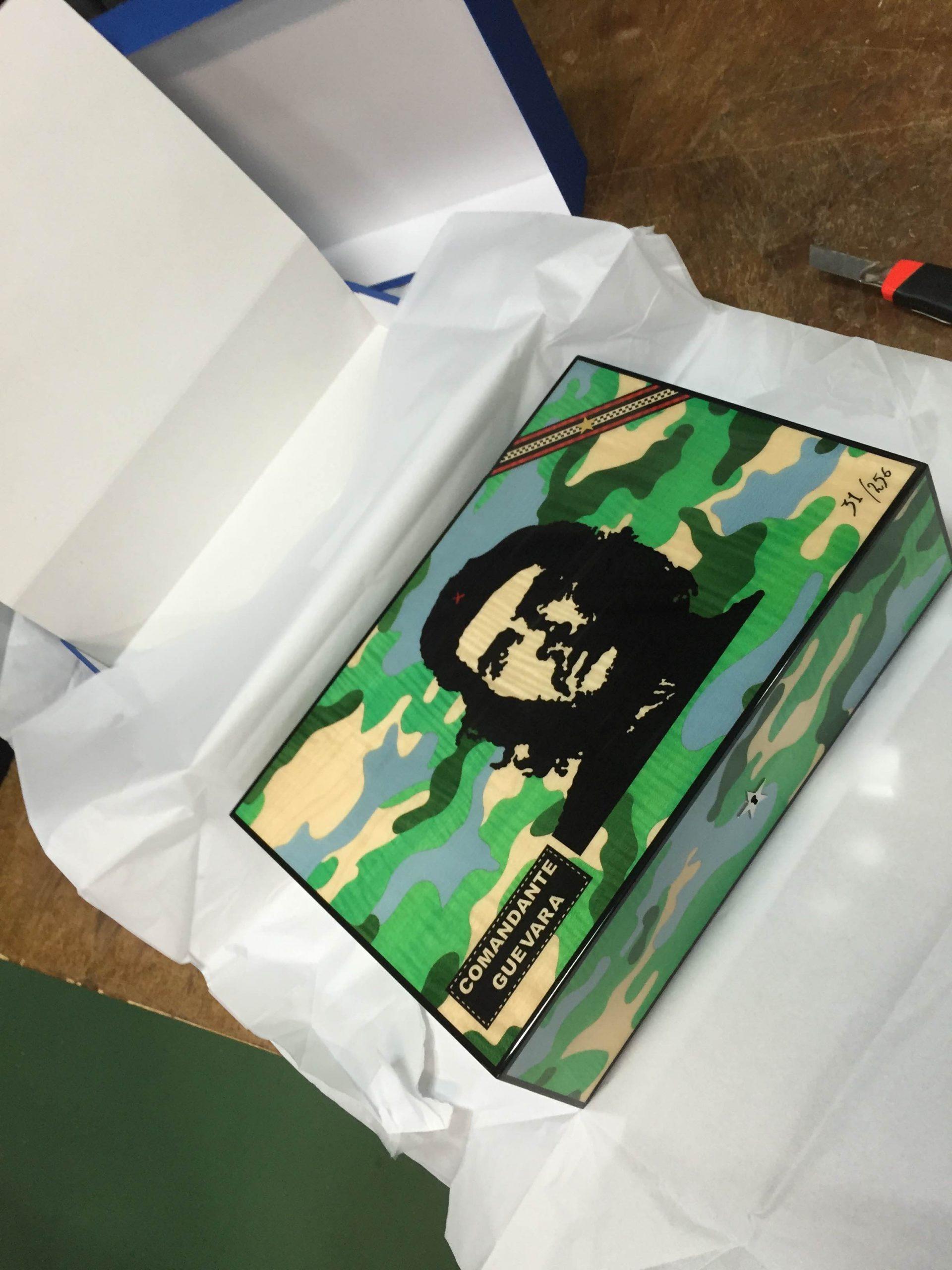 Elie Bleu cave Che Guevara