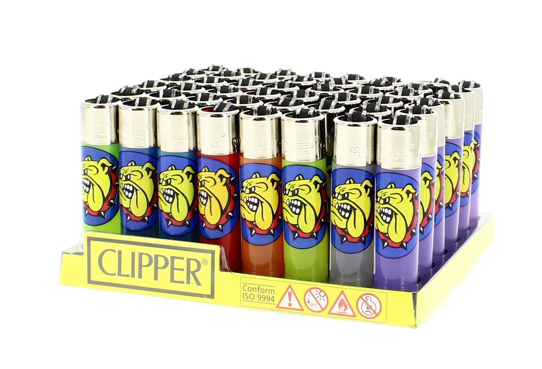 Photo de 48 briquets Clipper The Bulldog