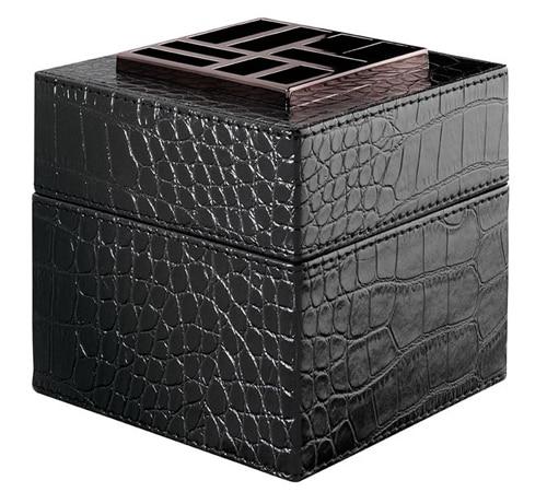 Diffuseur Easy Scent Cube Cuir Noir