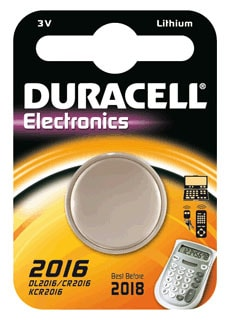 Photo de Pile Lithium Duracell CR2016