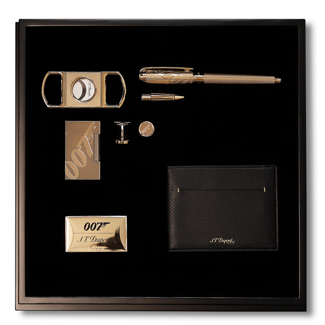 Photo de Coffret Collector S.T. Dupont James Bond 007