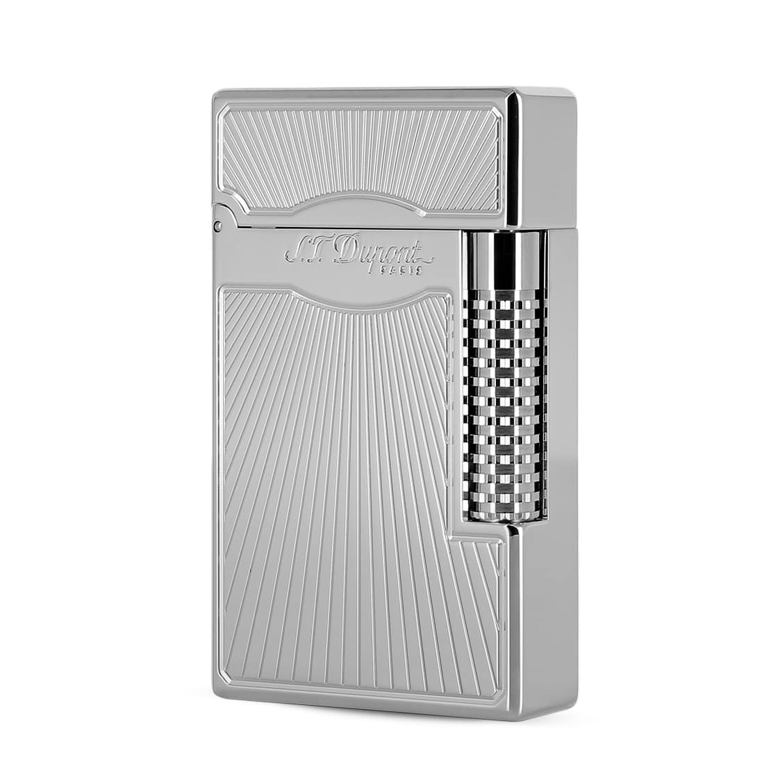 Photo de Briquet S.T. Dupont Ligne 2 Le Grand Dancing Orfèvre Palladium