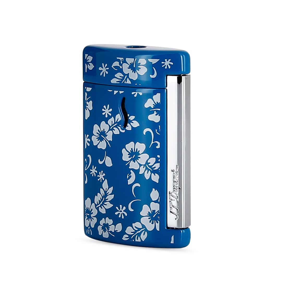 Photo de Briquet S.T. Dupont miniJet Hawaï Bleu