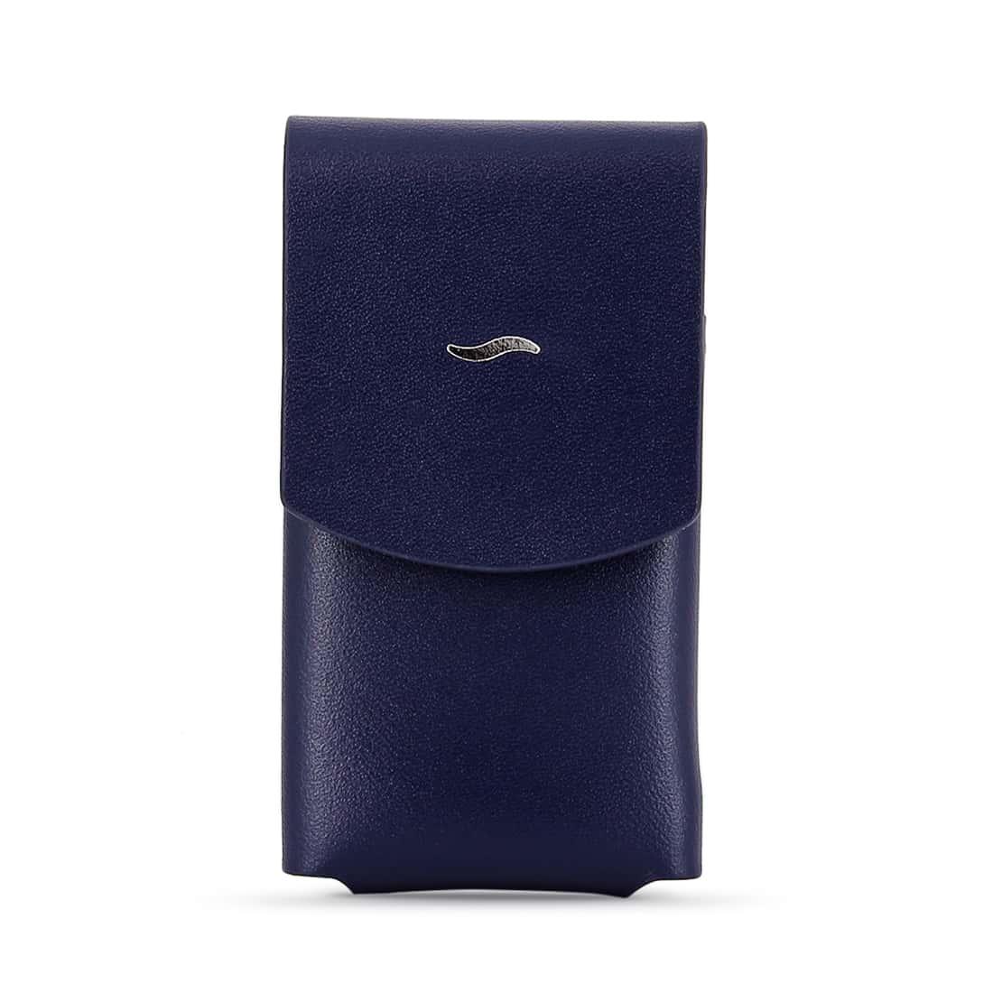 Photo de Etui briquet S.T. Dupont Slim 7 cuir Bleu
