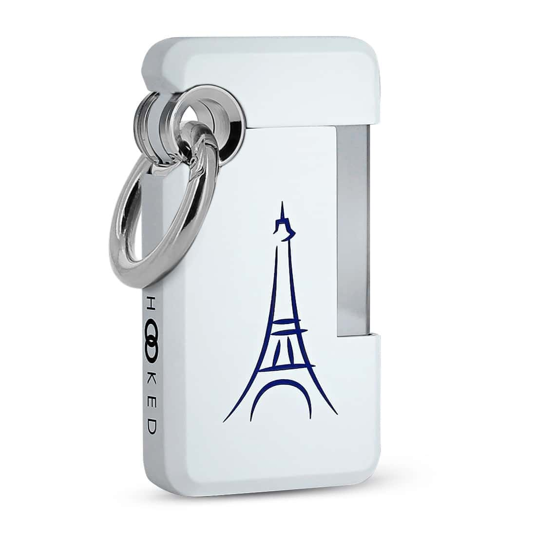 Photo de Briquet S.T. Dupont Hooked Paris Blanc