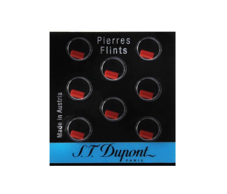 Photo de Pierres de briquet S.T. Dupont rouges 650