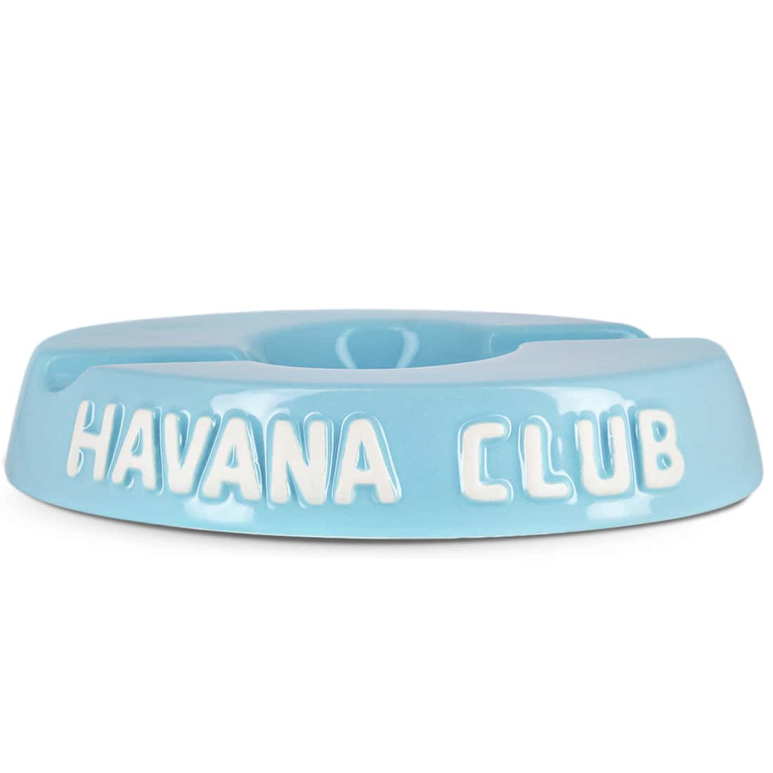 Photo de Cendrier Havana Club Bleu Clair double