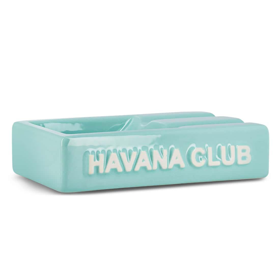 Photo de Cendrier Havana Club Rectangle El Segundo Bleu