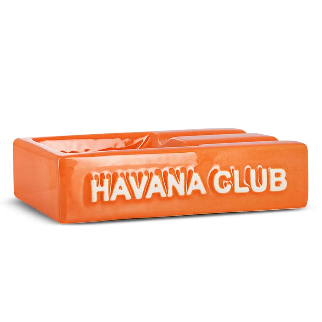 Photo de Cendrier Havana Club Rectangulaire El Segundo Orange