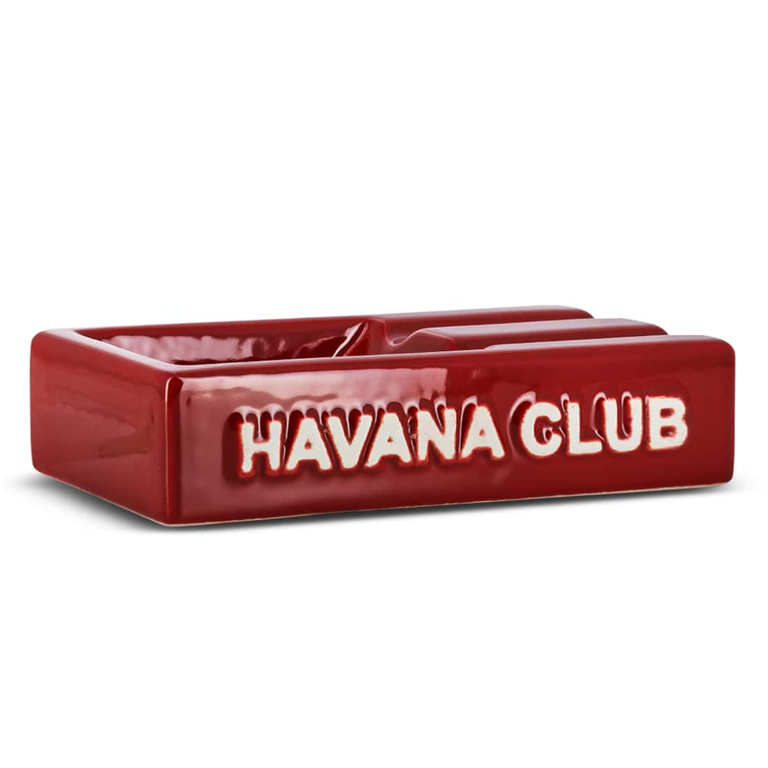 Photo de Cendrier Havana Club Rectangulaire El Segundo Rouge