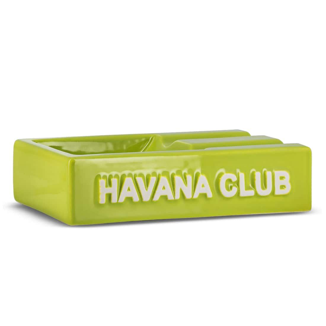 Photo de Cendrier Havana Club Rectangulaire El Segundo Vert
