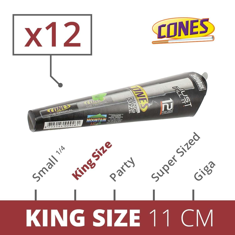 Photo de Cones King Size x 12