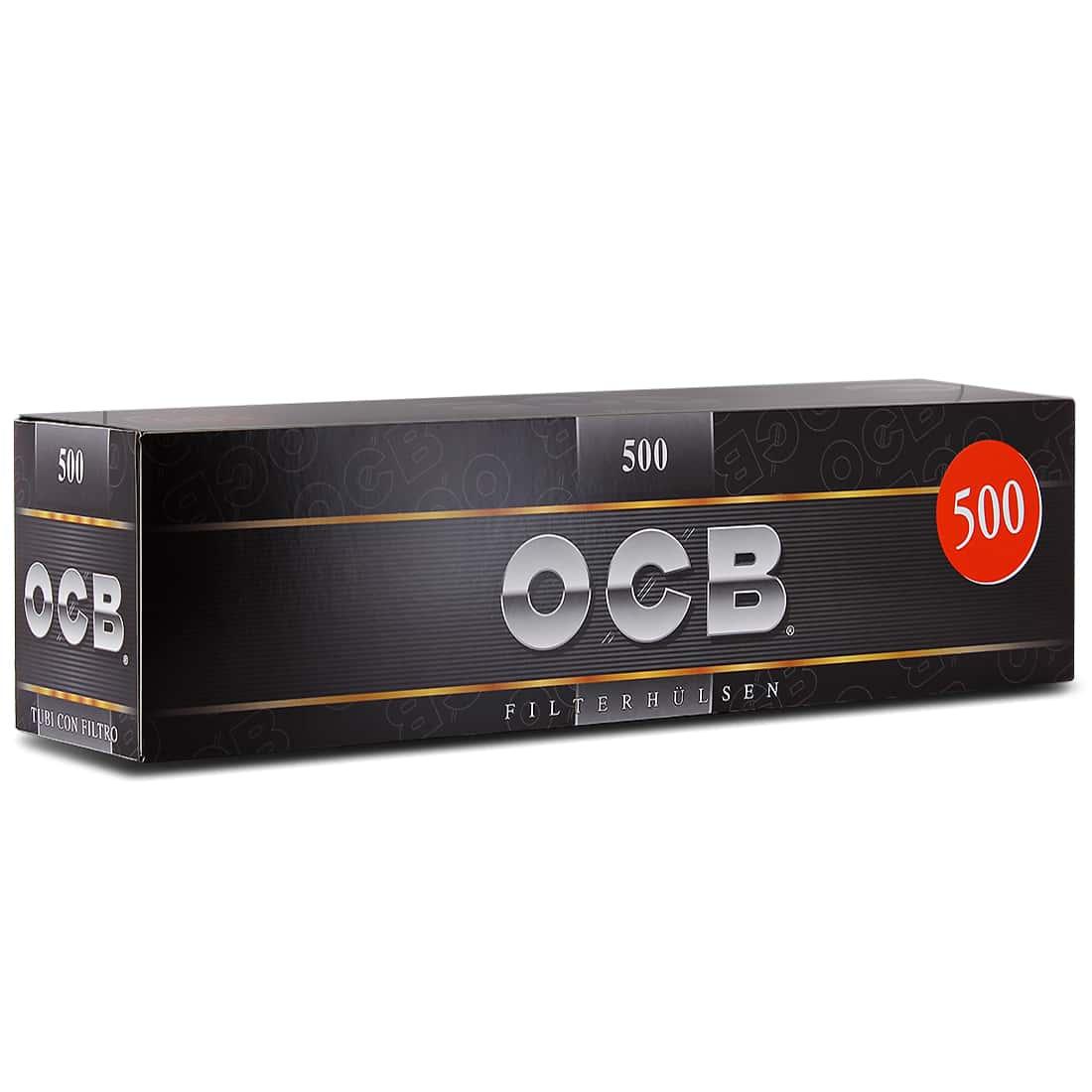 Photo de Boite de 500 tubes OCB avec filtre x1