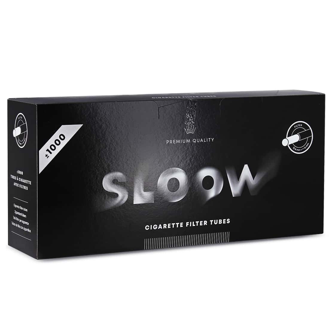 Photo de Boite de 1000 tubes Sloow avec filtre x 1