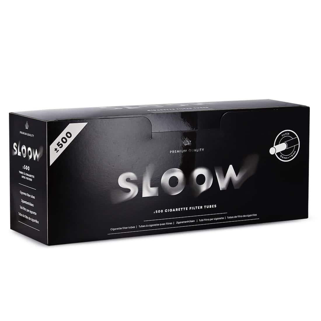 Photo de Boite de 500 tubes Sloow avec filtre x 1