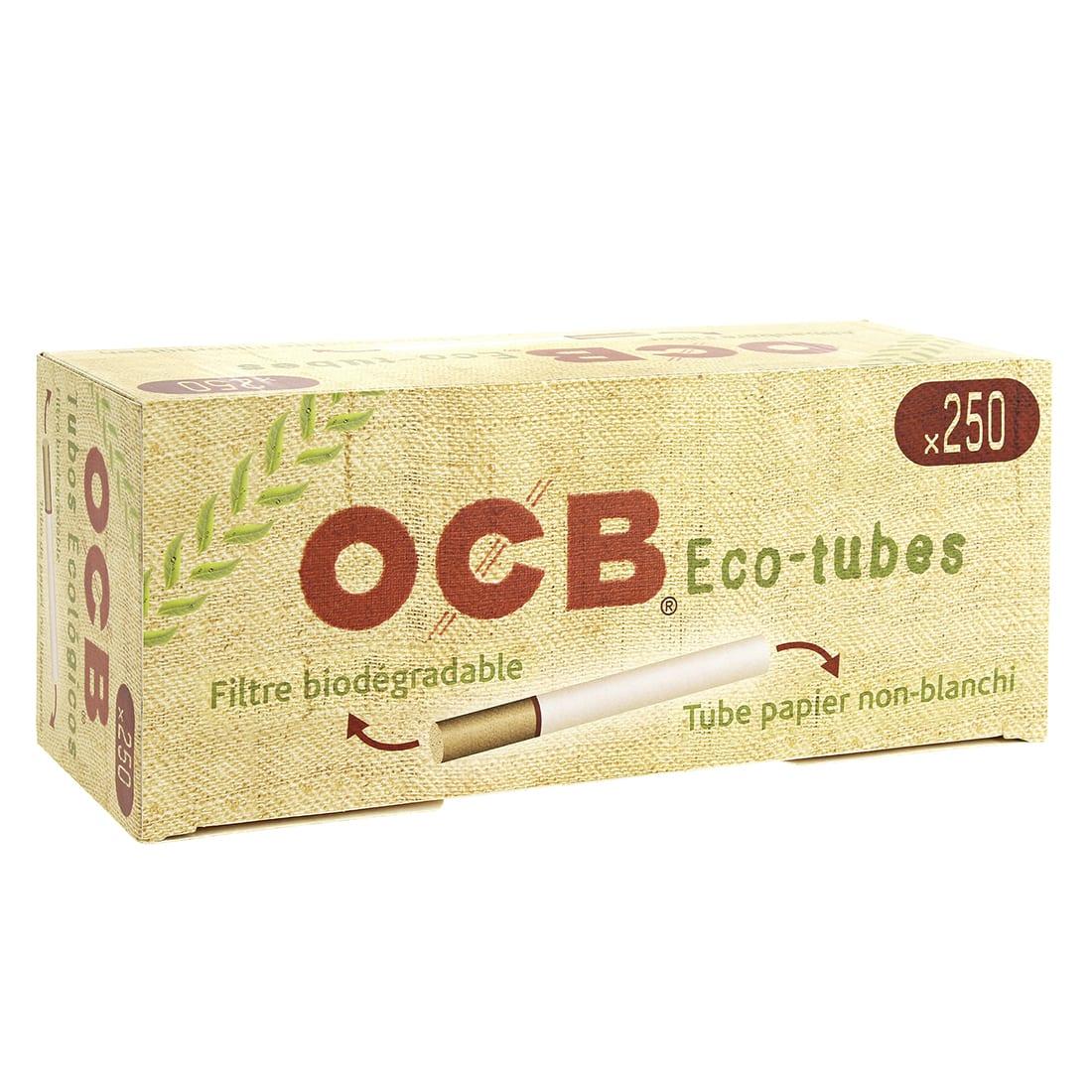 Photo de Boite de 250 tubes OCB Chanvre Bio avec filtre x1