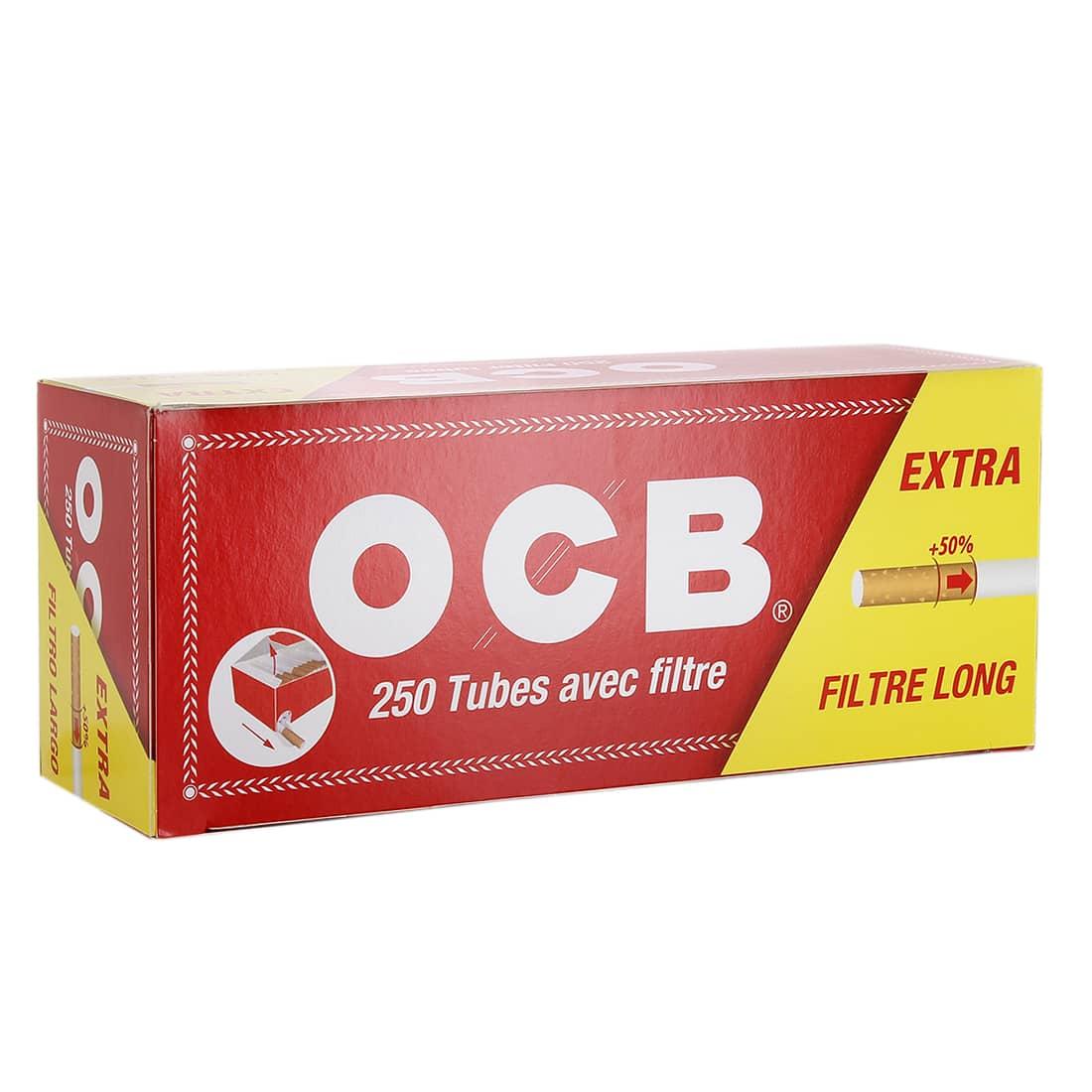 Photo de Boite de 250 tubes OCB Extra