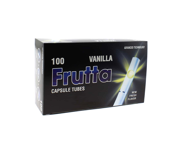 Photo de Boite de 100 tubes Click vanille avec filtre x 1