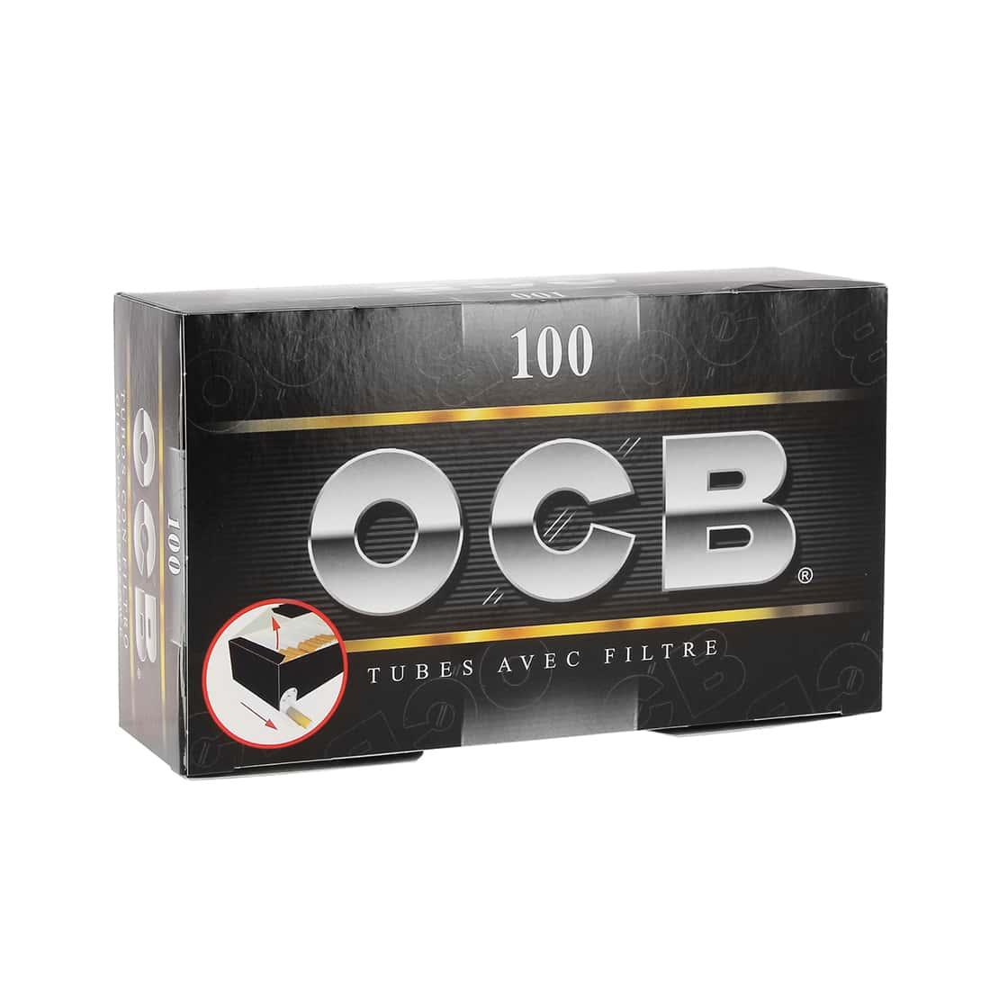 Photo de Boite de 100 tubes OCB avec filtre x 1