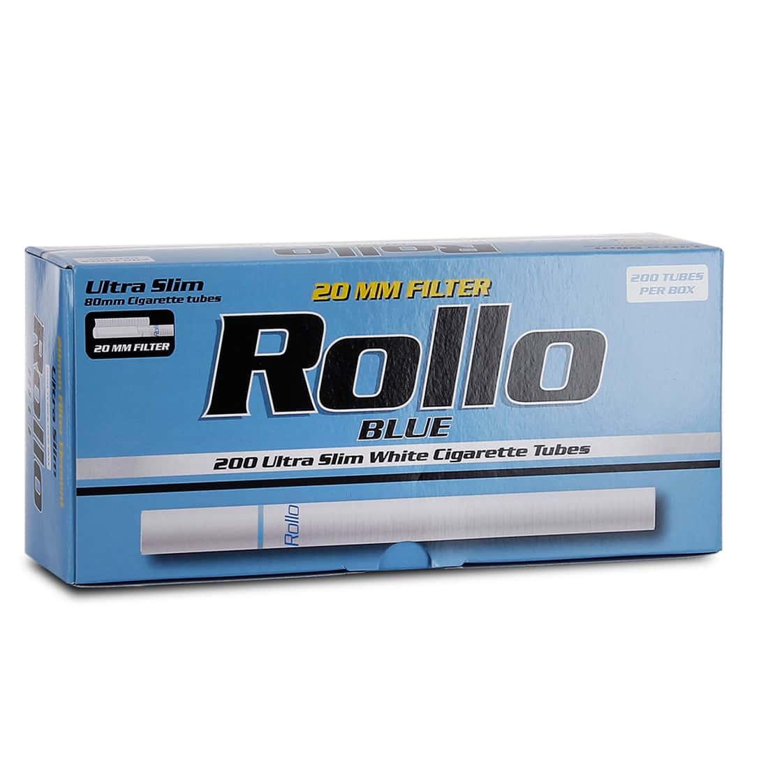 Photo de Boite de 200 tubes Rollo Blue Ultra Slim