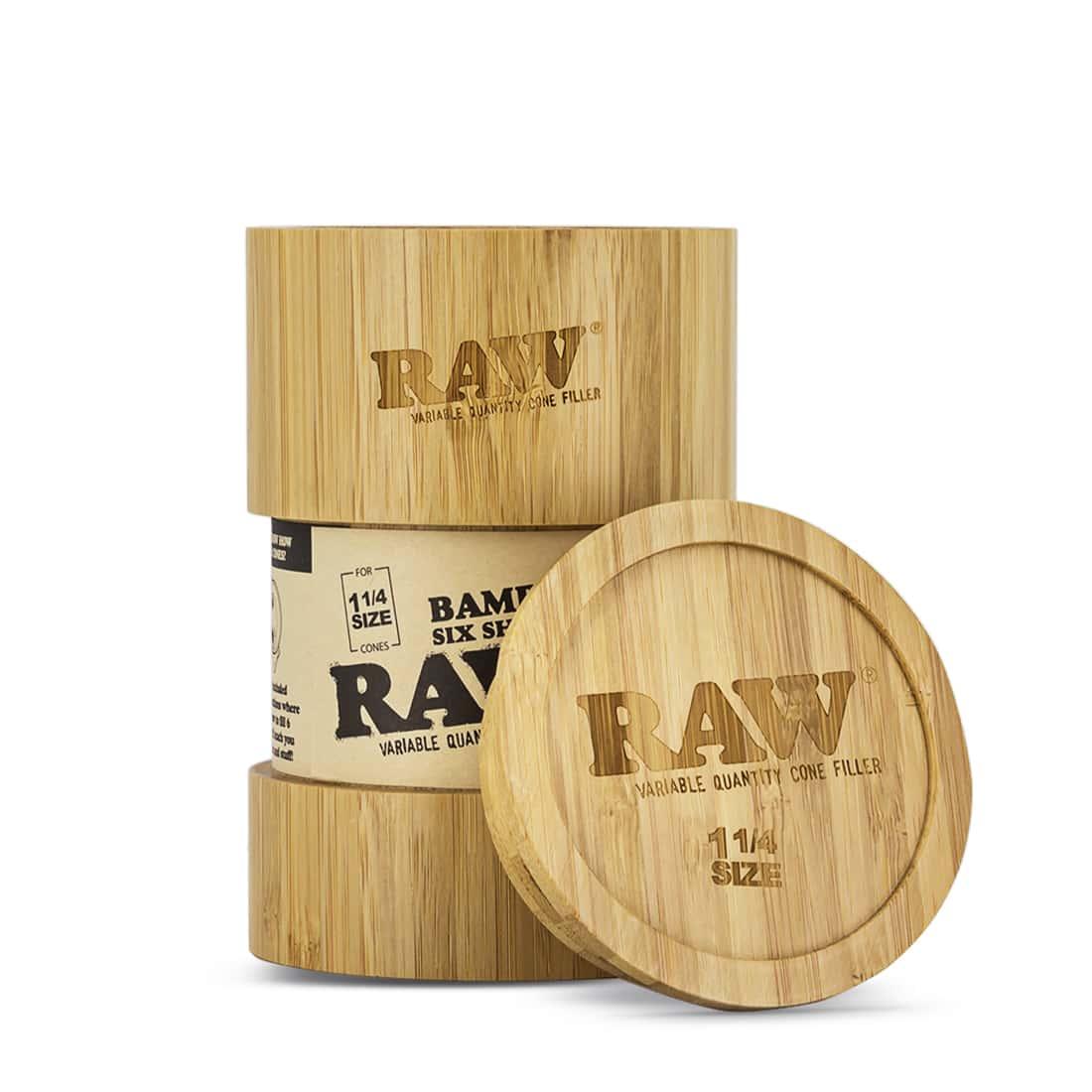 Photo de Shooter Raw 6 Cones 1/4 version Bamboo