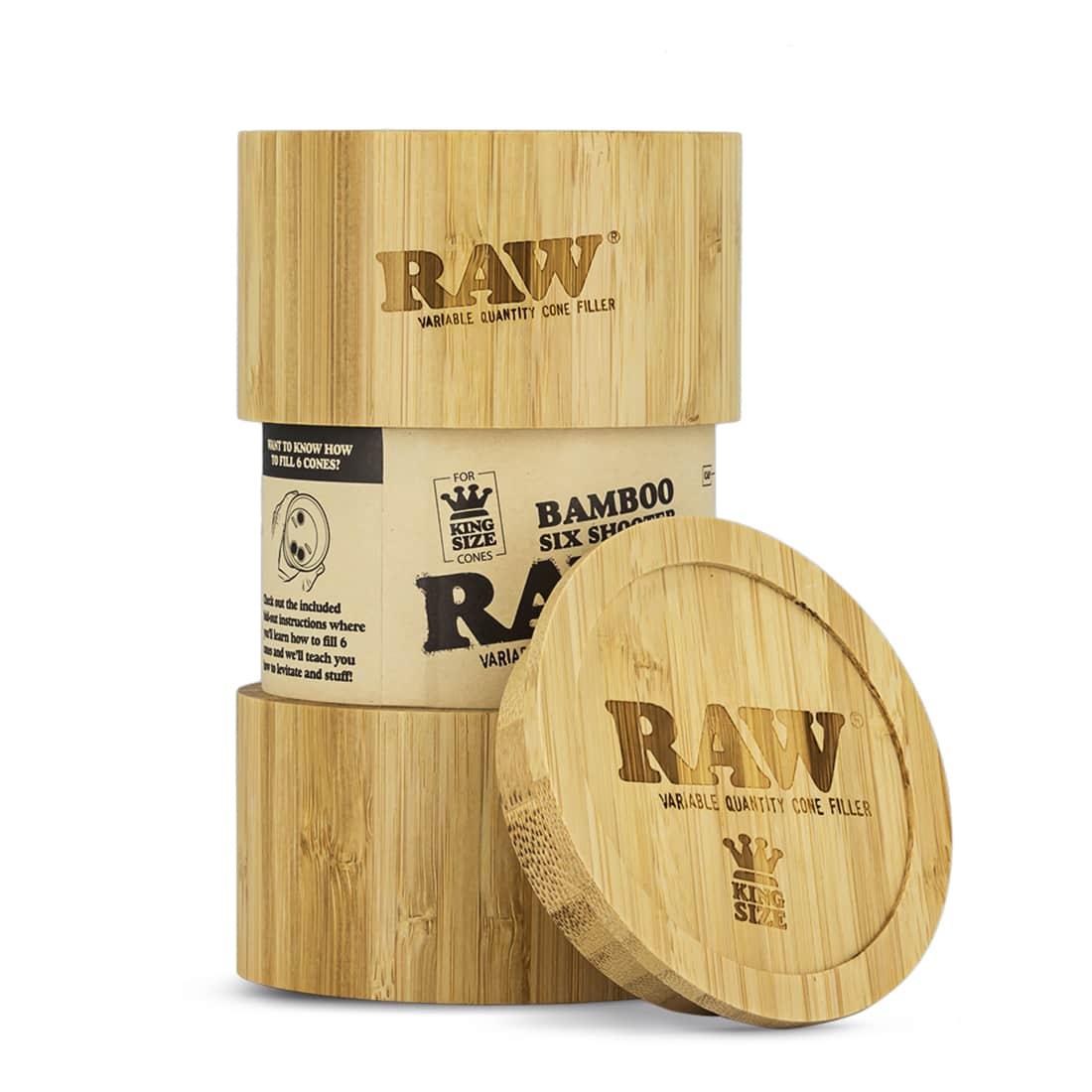 Photo de Shooter Raw 6 Cones KS version Bamboo