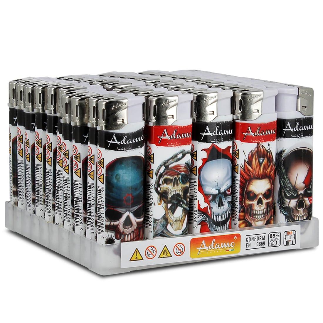Photo de Briquets électroniques Skull x 50