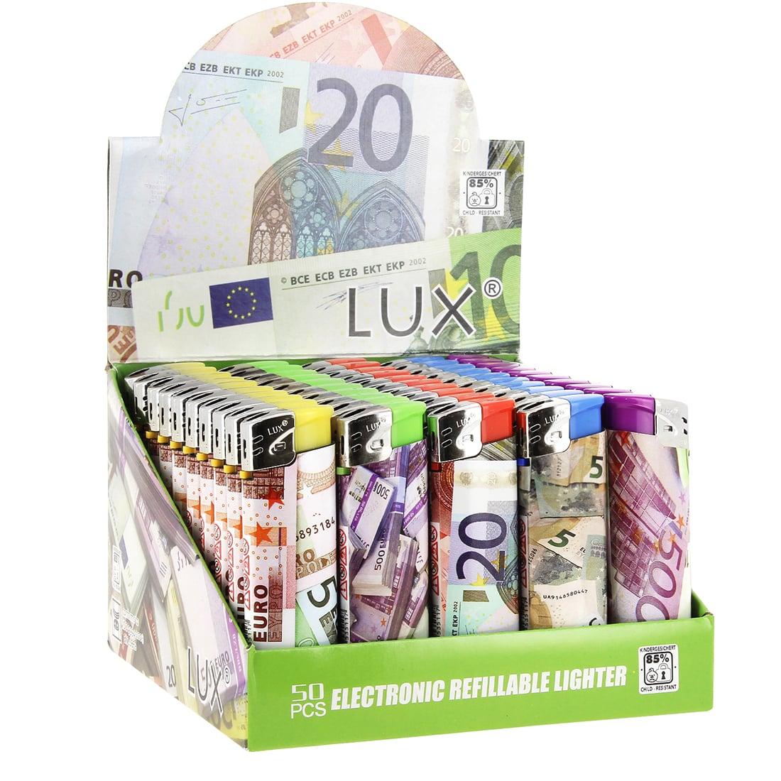 Photo de 50 Briquets jetables Euros