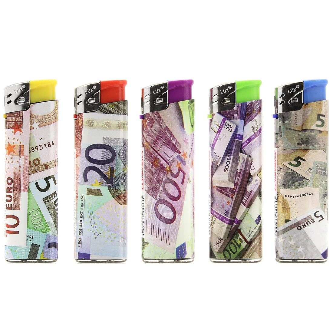 Photo de 5 Briquets jetables Euros