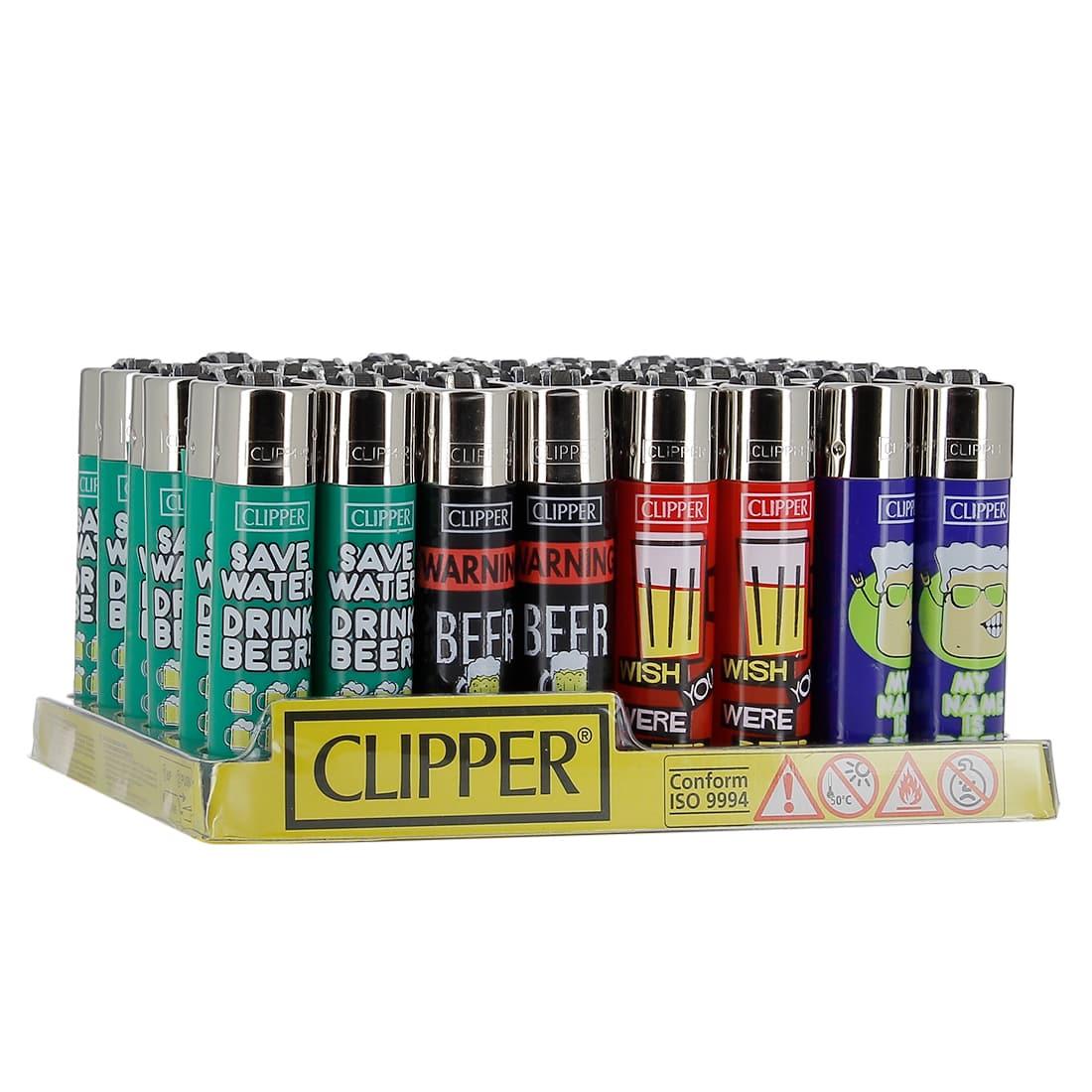 Photo de Briquet Clipper Beer x 48