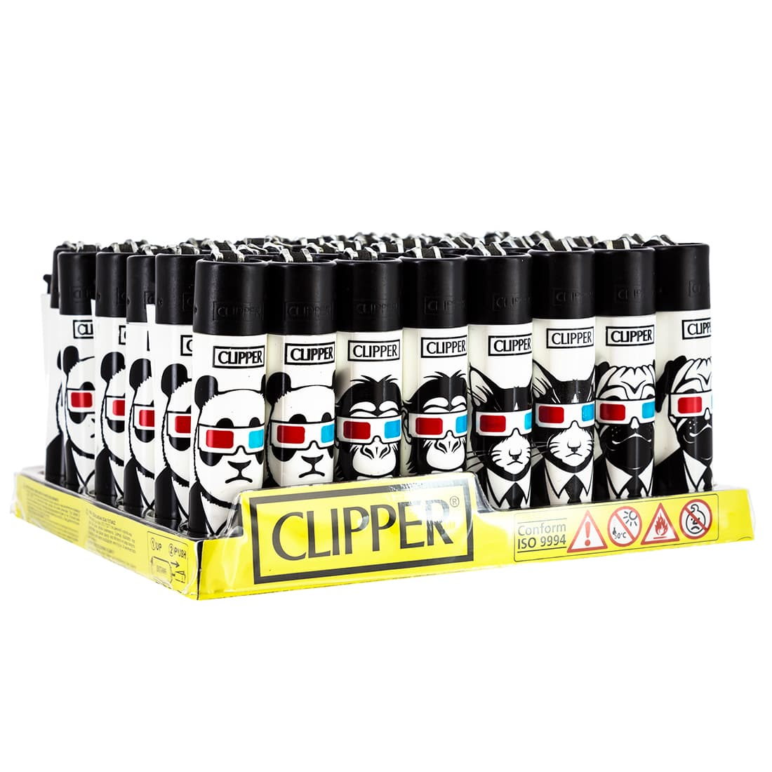 Photo de Briquet Clipper Animaux 3D x 48