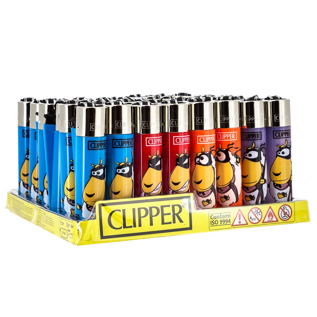 Photo de Briquet Clipper Mouton Ninja x 48