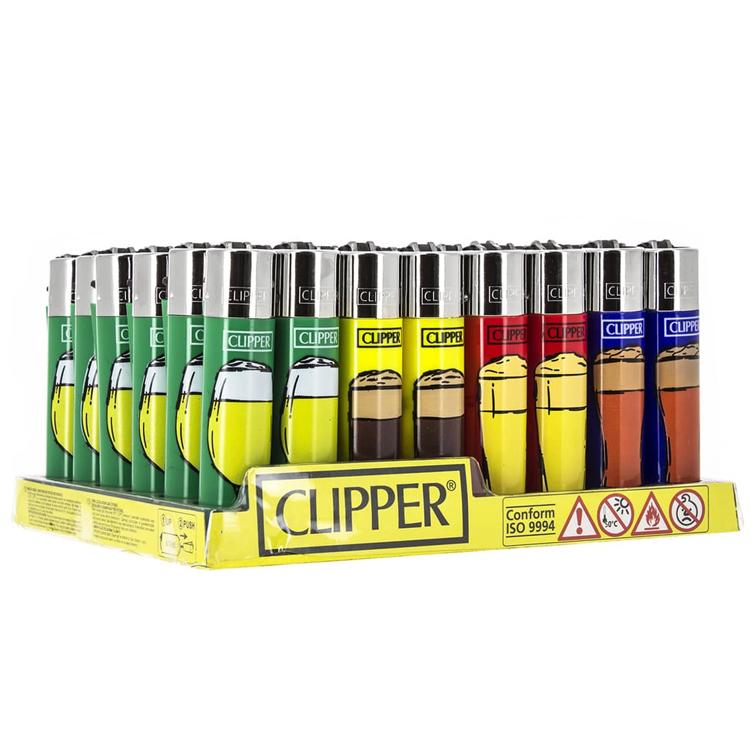 Photo de Briquet Clipper Bière x48