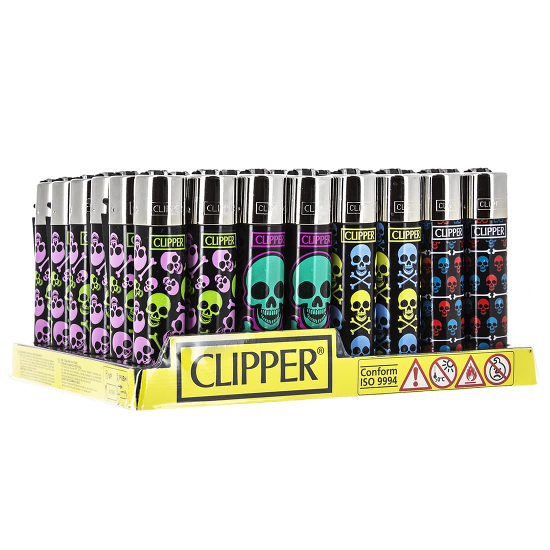 Photo de Briquet Clipper Skull x48