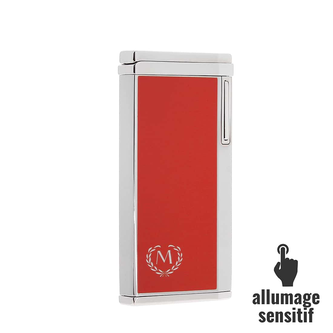 Photo de Briquet Myon electrique sensitif rouge