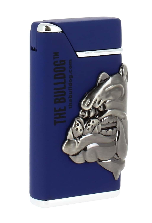 Photo de Briquet The Bulldog bleu