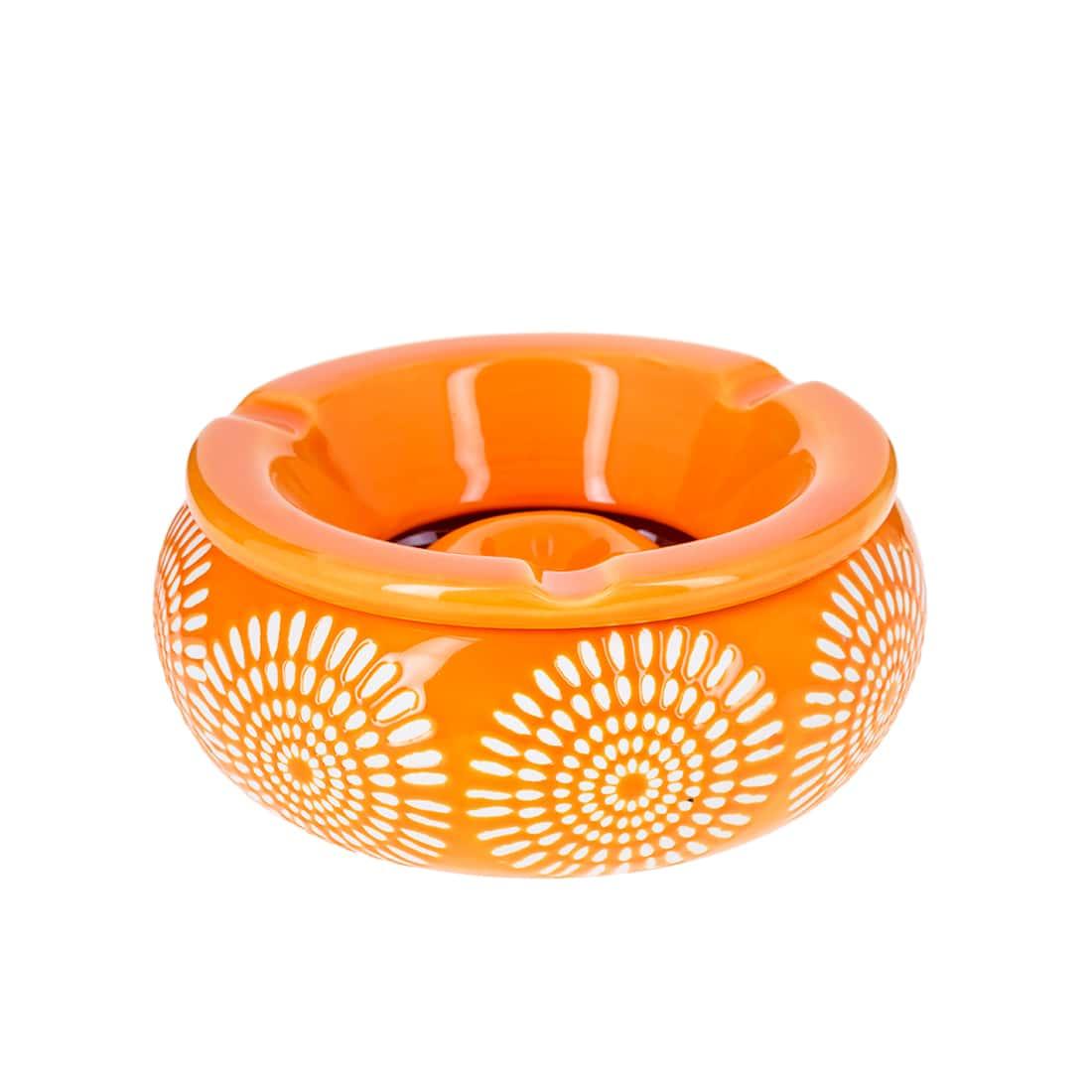 Photo de Cendrier Marocain Fleur Orange