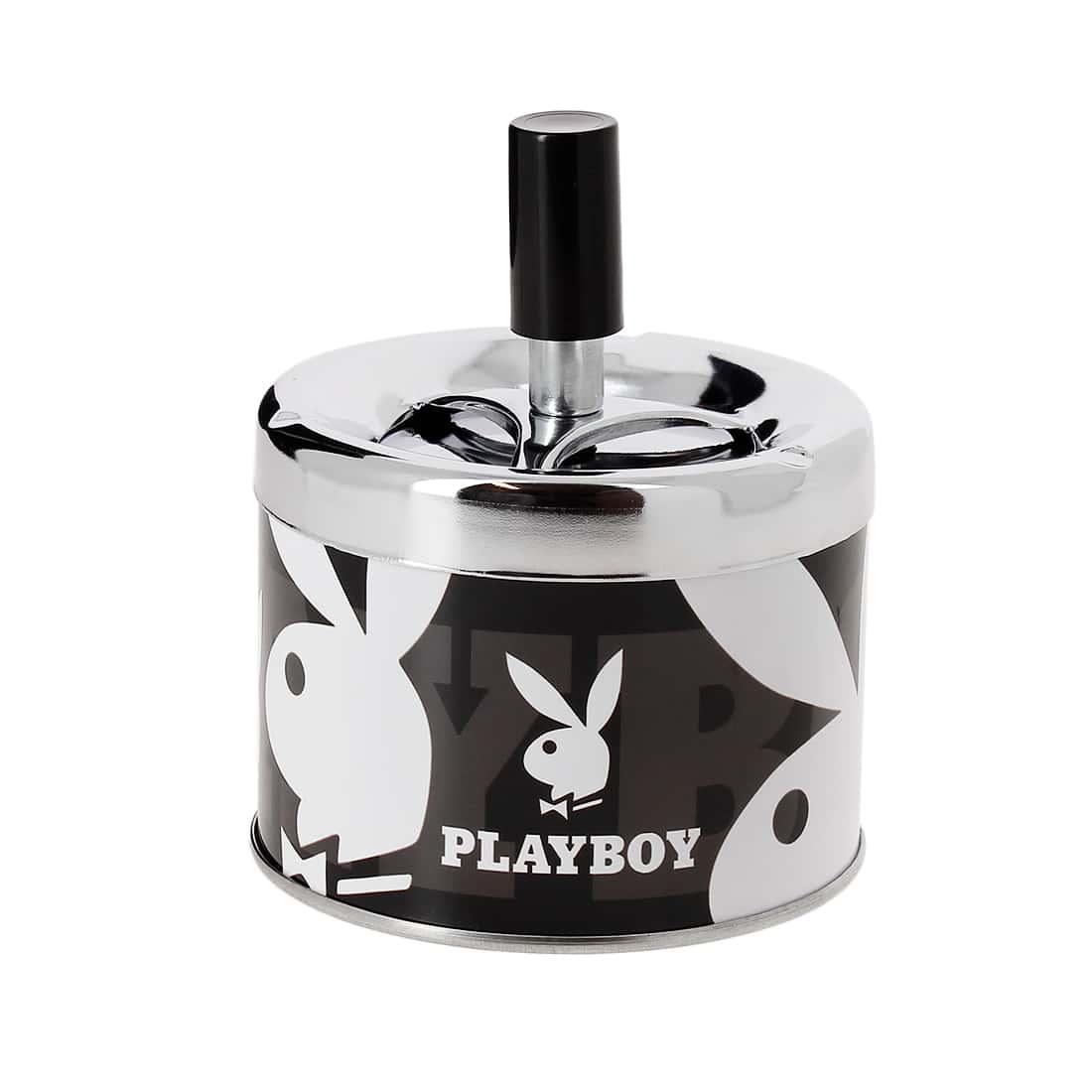 Photo de Cendrier Poussoir Playboy Noir