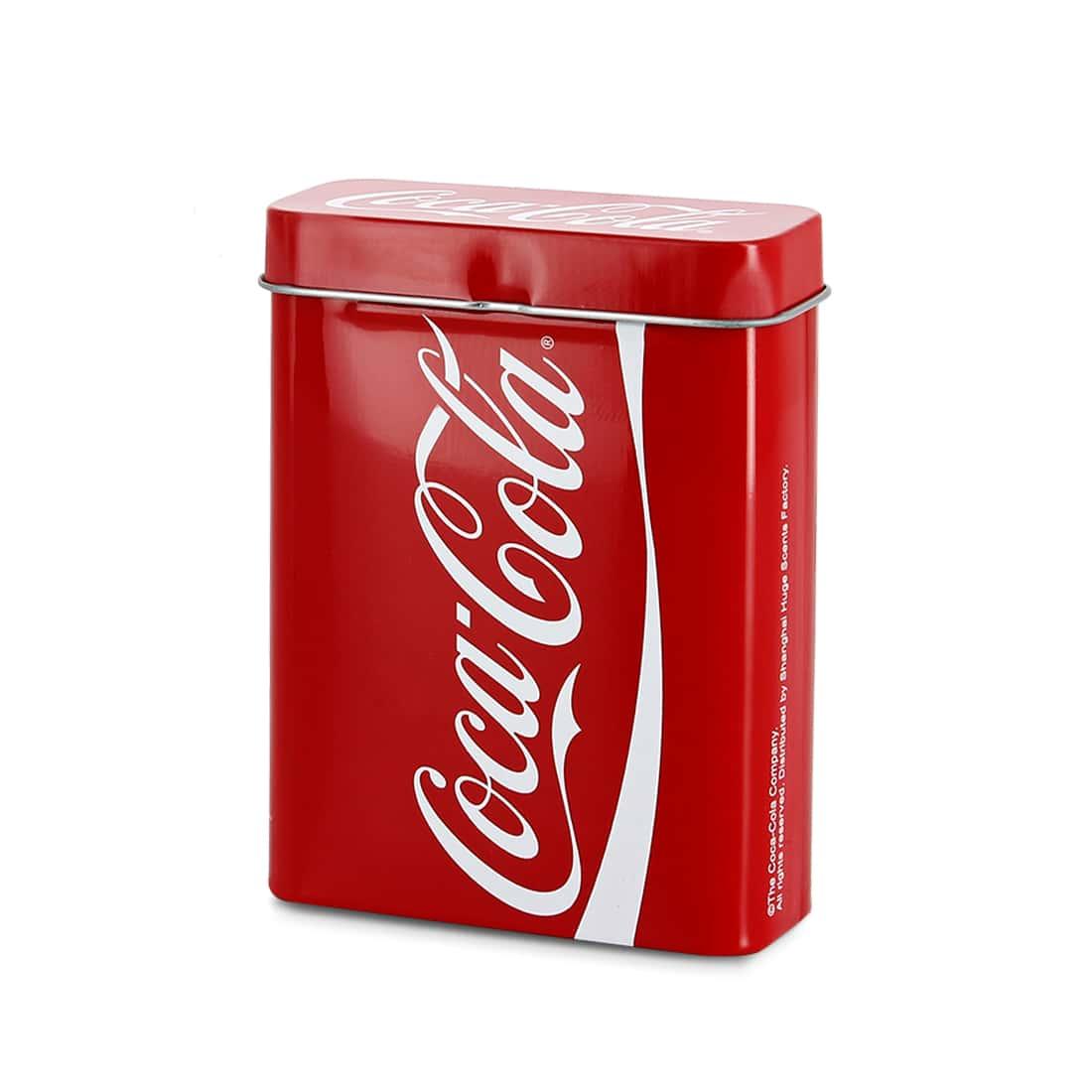 Photo de Boite à cigarettes Coca-Cola rouge