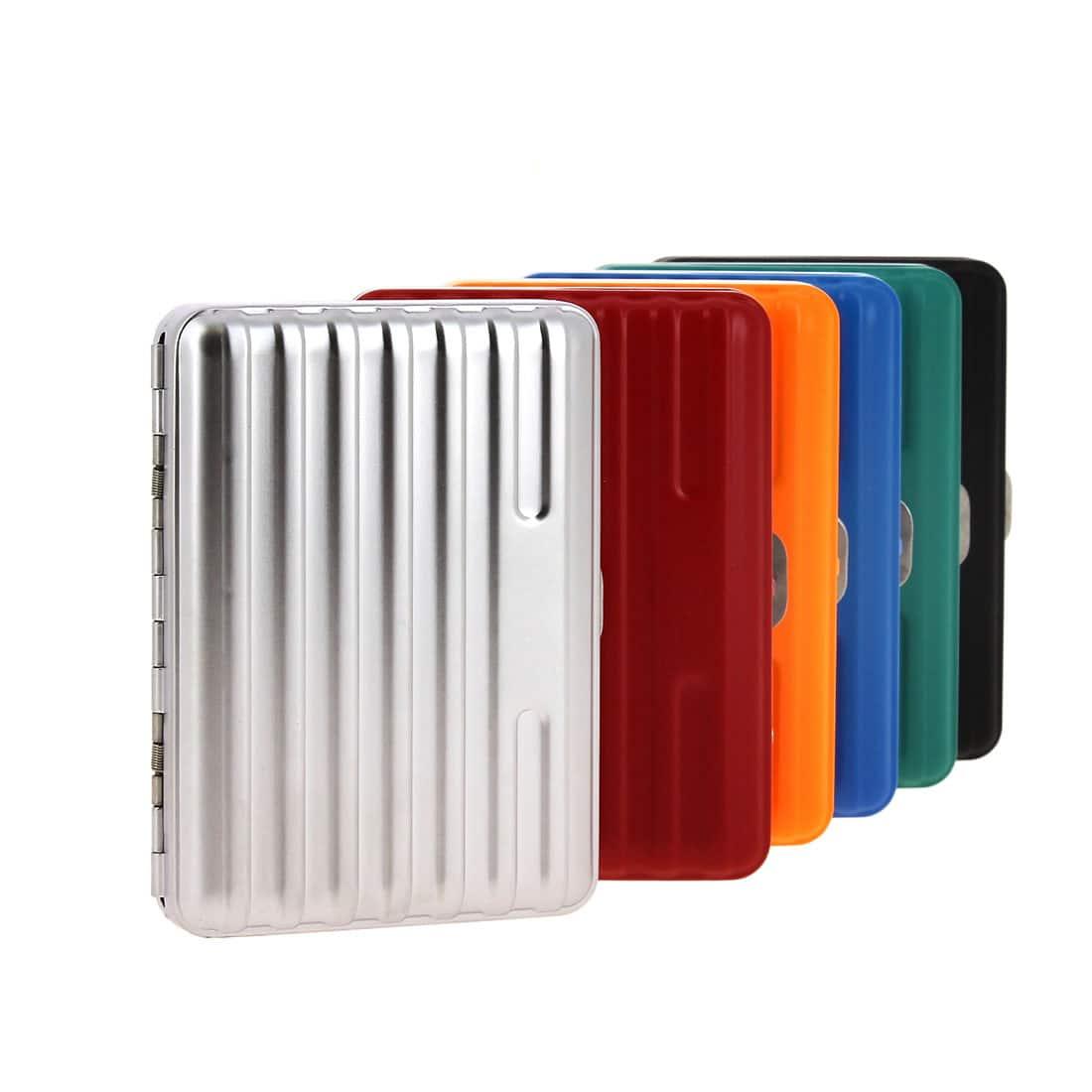 Photo de Etui cigarette valise métal petit modèle