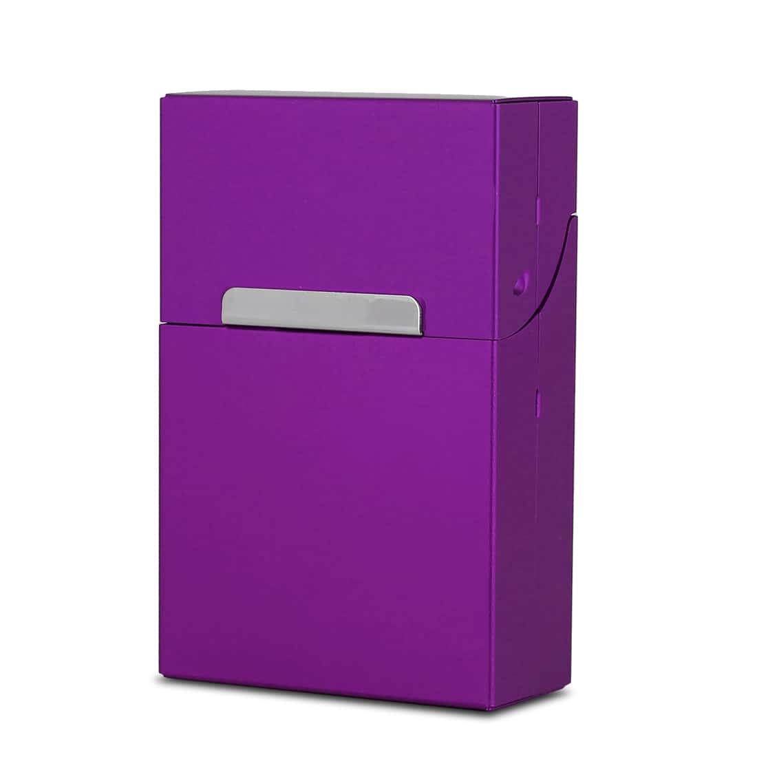 Photo de Etui cigarettes Aluminium Violet