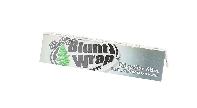Photo de Papier à rouler Blunt Wrap Silver Slim x1
