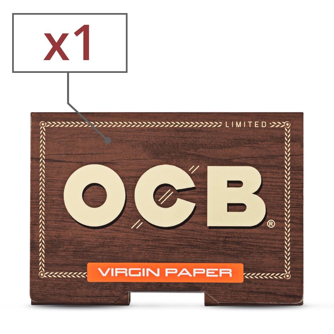Photo de Papier à rouler OCB Virgin Édition Limitée x 1