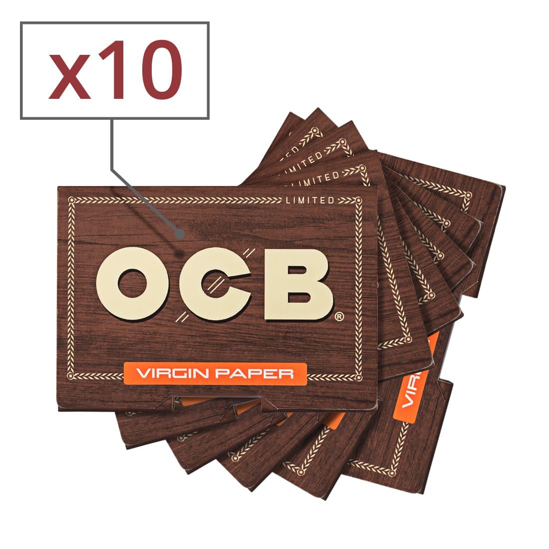 Photo de Papier à rouler OCB Virgin Édition Limitée x 10