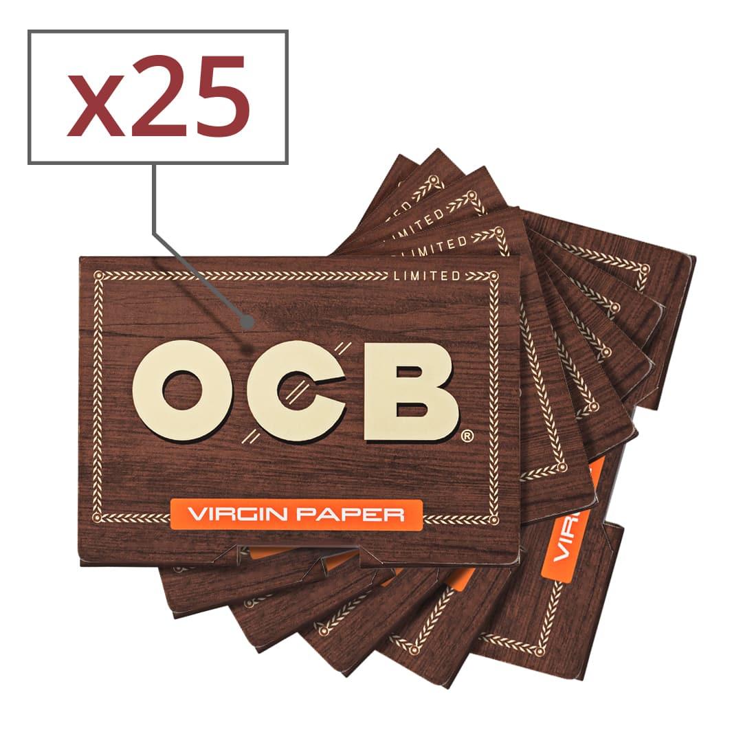 Photo de Papier à rouler OCB Virgin Édition Limitée x 25