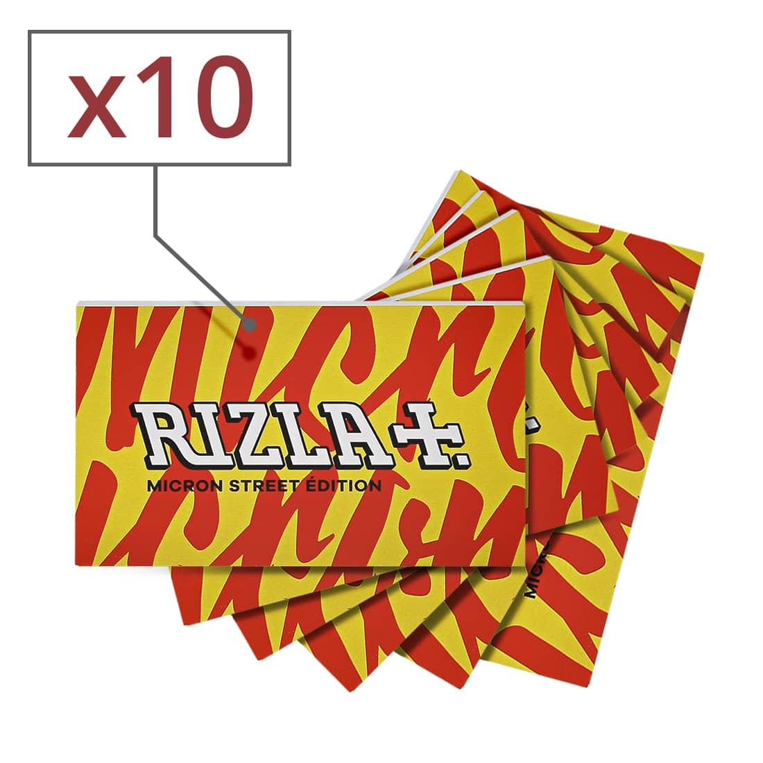 Photo de Papier à rouler Rizla + Micron Regular Street Edition x 10