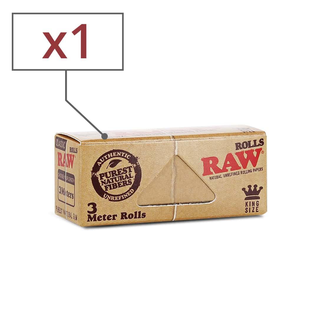 Photo de Papier à rouler Raw Rolls X 1
