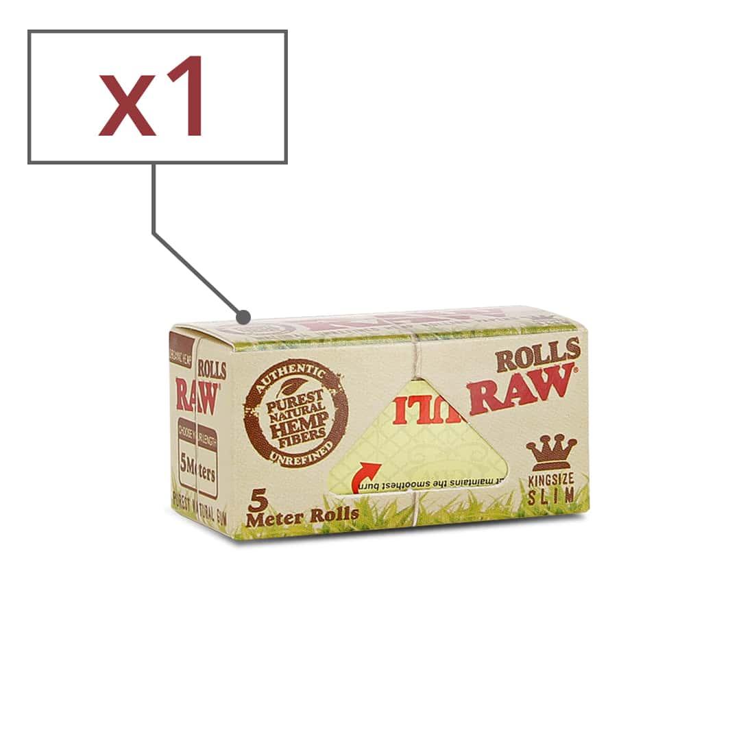 Photo de Papier à rouler Raw Rolls Organic X 1