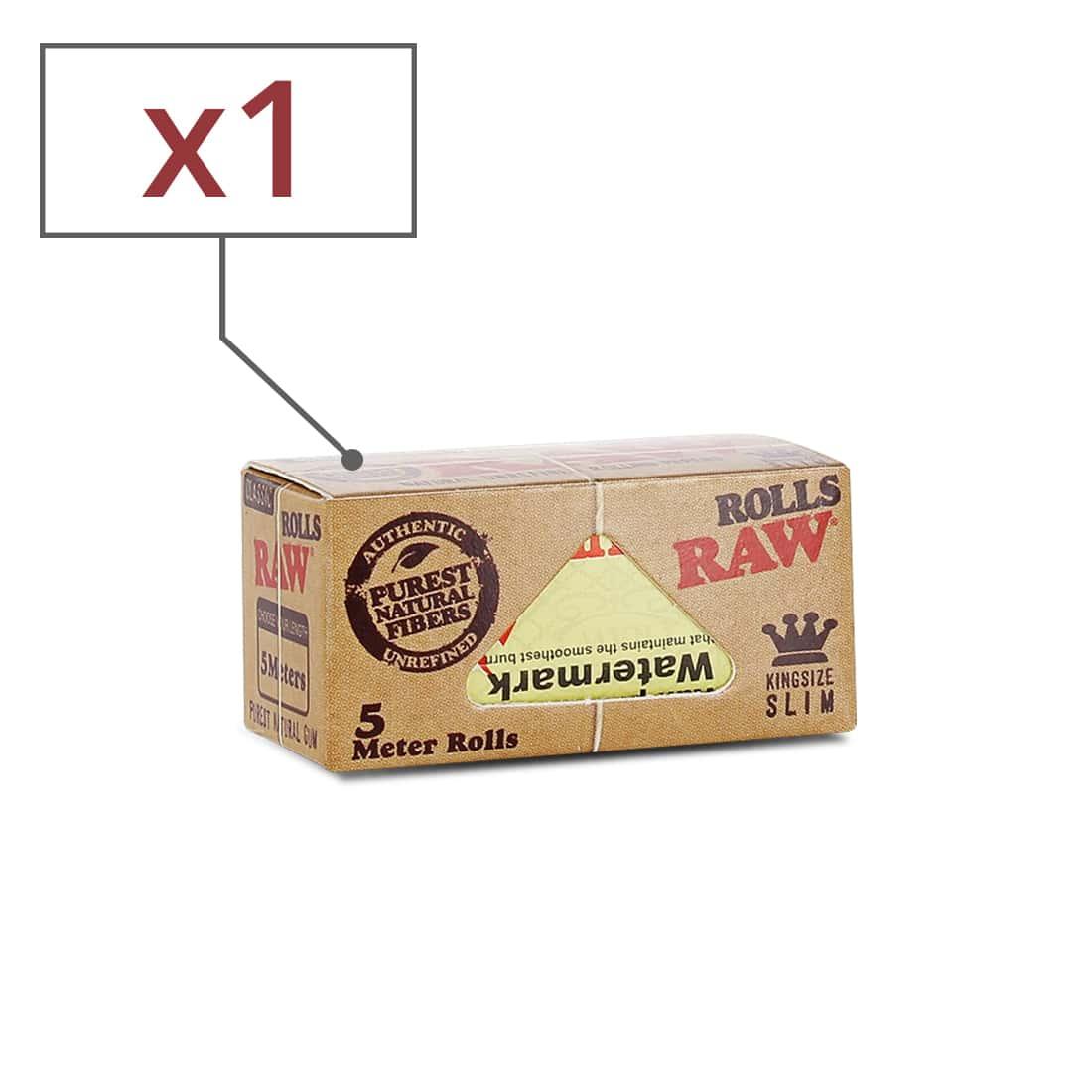 Photo de Papier a rouler Raw Rolls Slim x 1